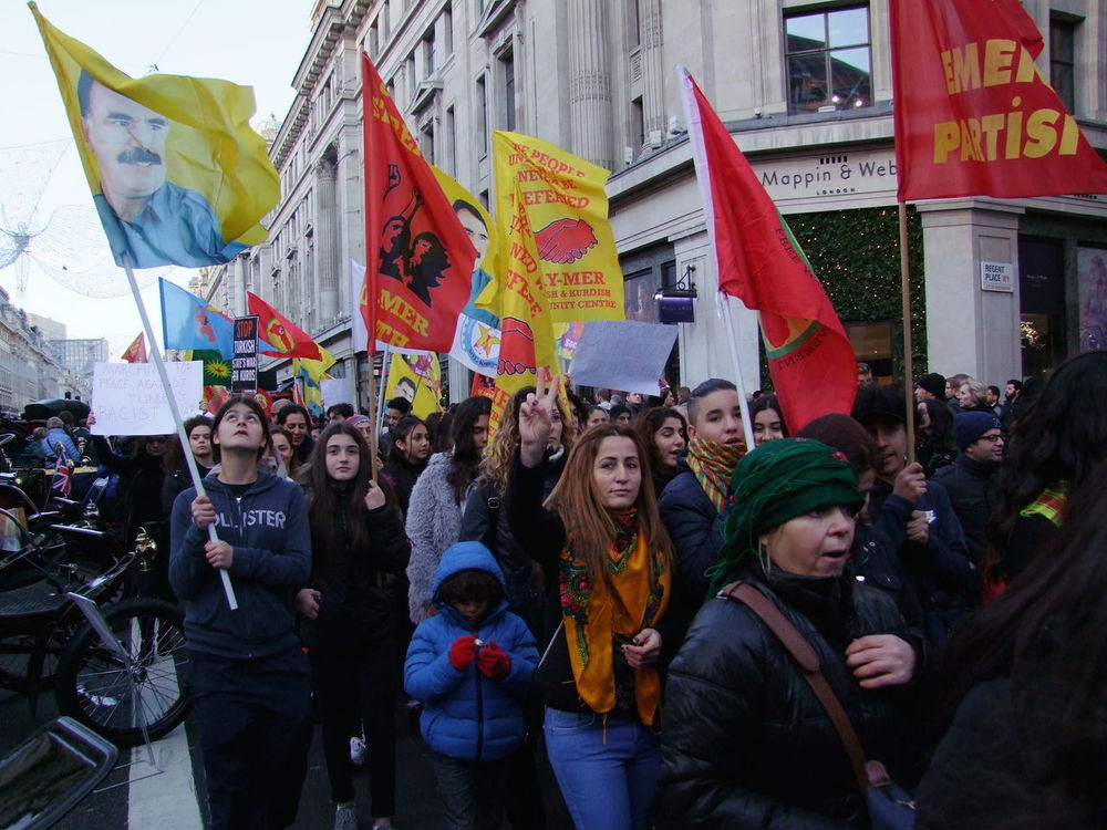 Turkish Protest, Regent Street 5 November 2016 Adults Only Capital City City Composition Crowd Flags Full Frame GB Large Crowd London Outdoor Photography Parade Protest Protestors Rally Real People Togetherness Turkey Turkish Uk Women