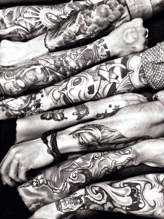 Tattoo Life Blackandwhite