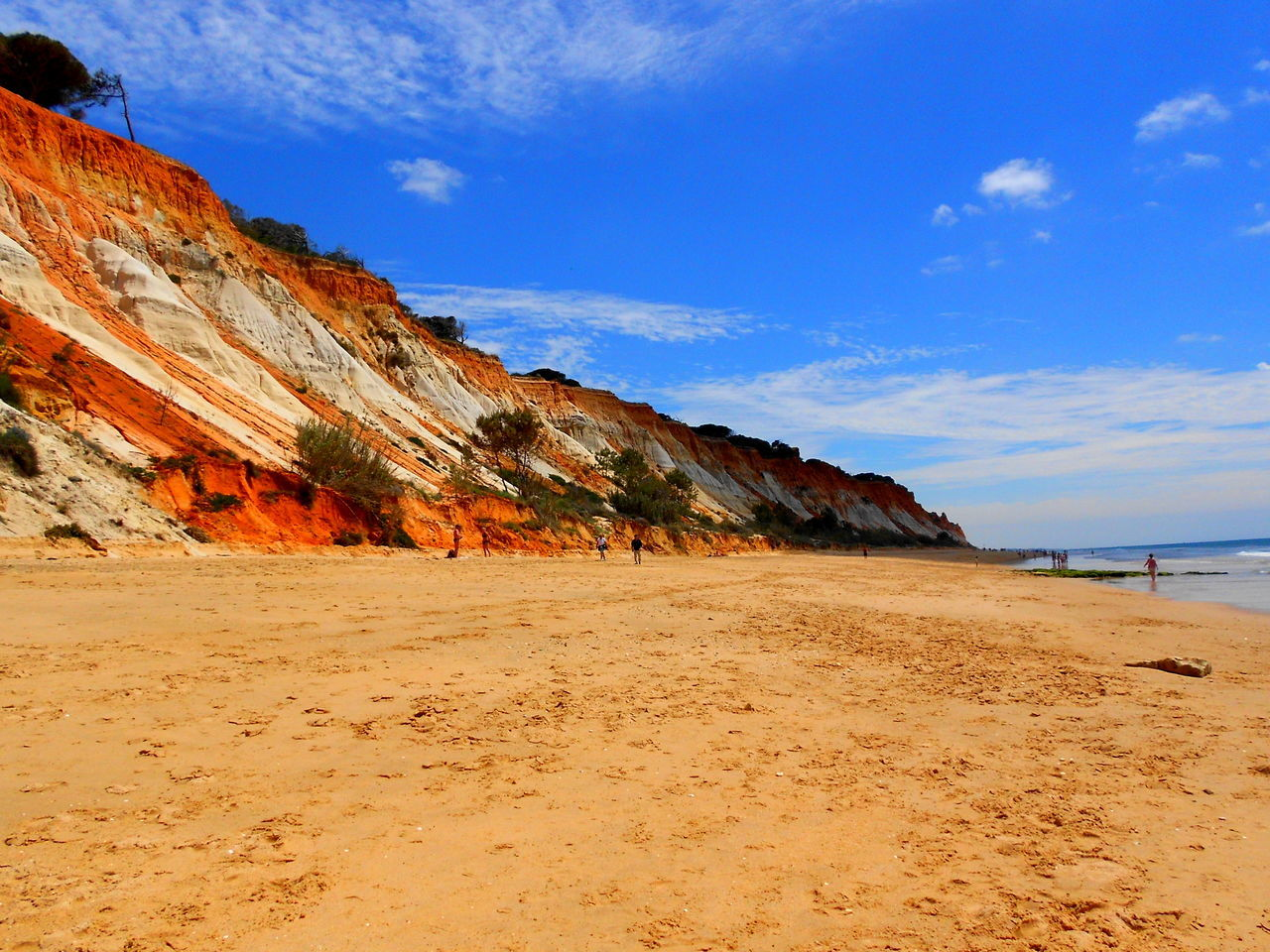 beauty in nature, sand, scenics, nature, beach, tranquil scene, tranquility, sea, day, outdoors, sky, blue, water, no people