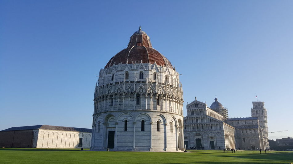 The Great Outdoors With Adobe Pisa Piazza Dei Miracoli Italy Italia Green Sky Landscape Landscape_photography Landscapephotography Monuments Monument