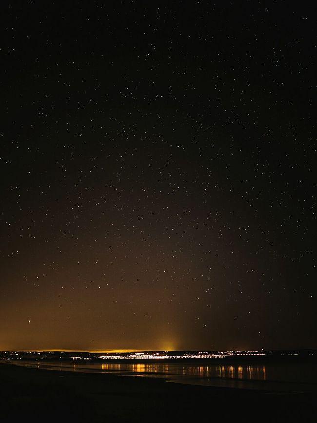 Bastad By Night Nightphotography Stars Starsky Ocean Water Reflections Reflections Long Exposure LUMIX GX8 Night Lights Night