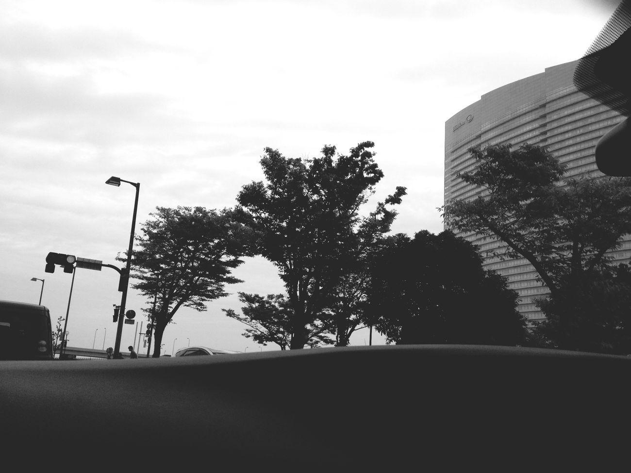 Hiltonhotel Monochrome Driving Fukuoka