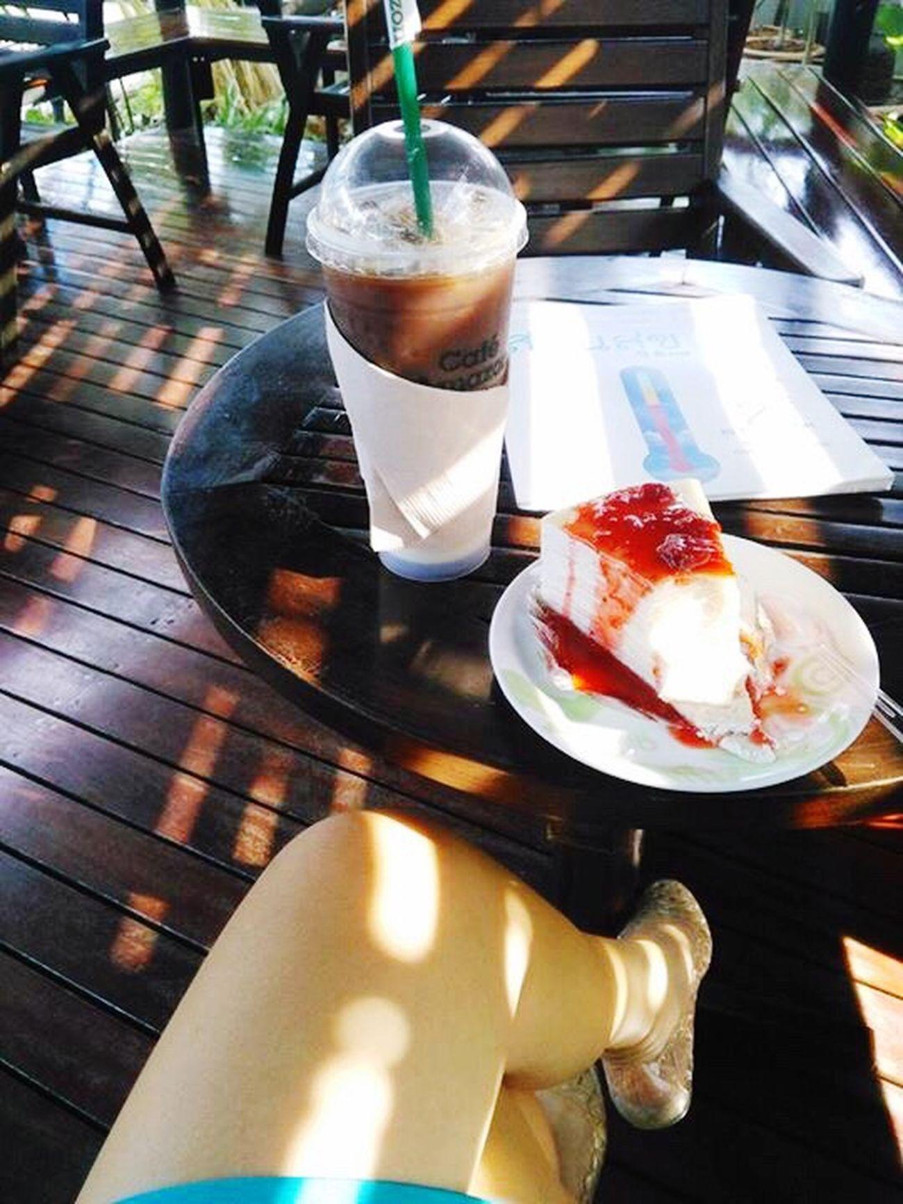 Hello fine day Coffee Crape Cake
