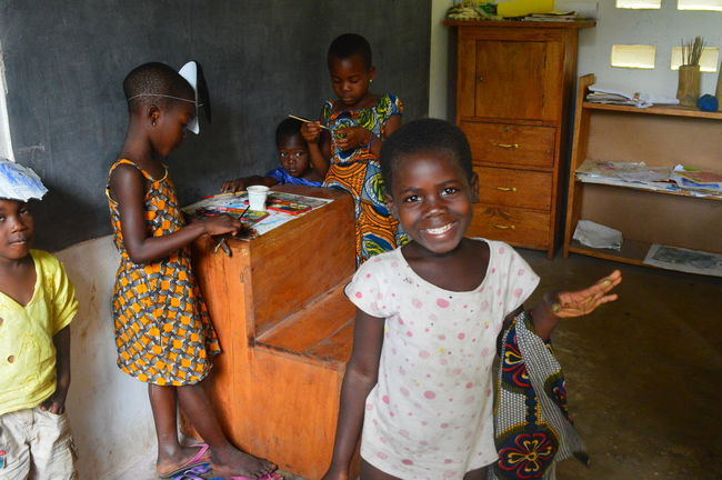Africa African Child Childhood Enjoyment Girls Happiness People Smiling Togo