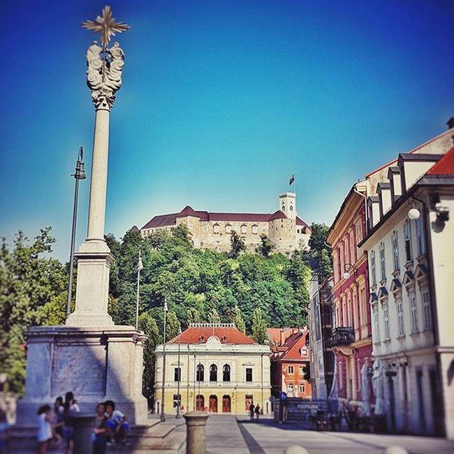 Ljubljana Igslovenia Iloveslovenia Castle Summer Visitljubljana