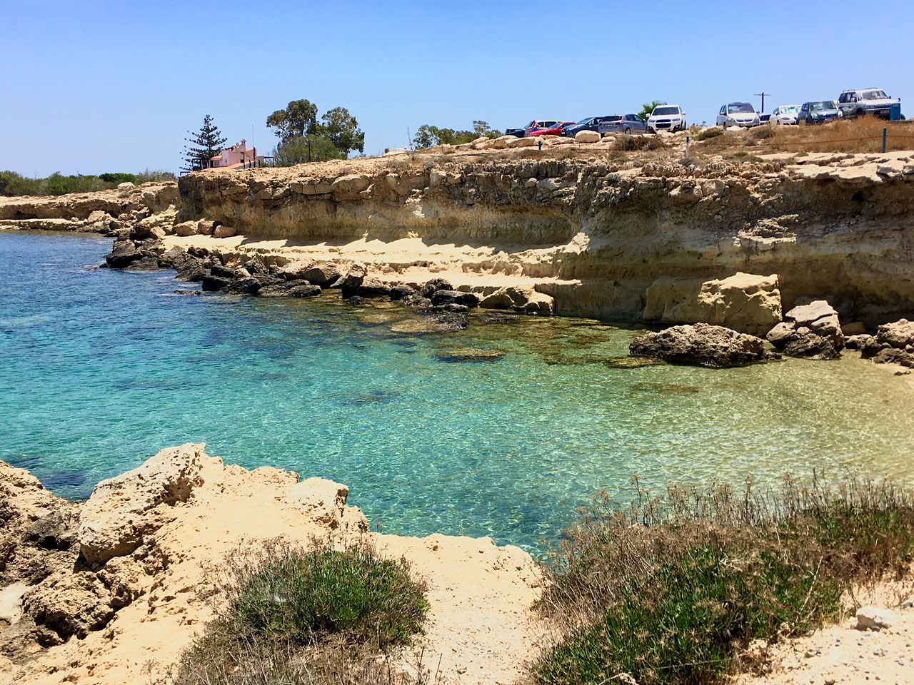 Cyprus Greenbay Sea Bay Sand Sandy Beach Clear Waters Crystal Protaras View Feel The Journey Original Experiences