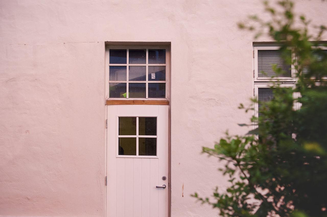 Architecture Door Doors Geometric Shapes Geometry Glass Home House Pastel Pink Sunset Tree Urban Geometry Wall Window Pastel Power