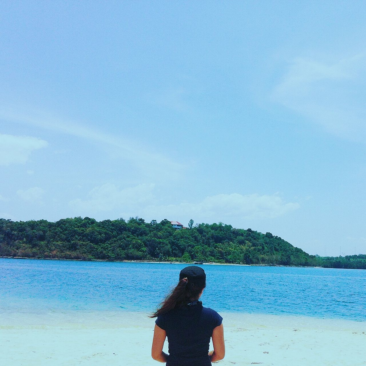 This was the best summer I ever had (so far) :) Miles Away Water Blue Rear View Sky Day Relaxation Sea Outdoors Zambales Magalawaisland Itsmorefuninthephilippines Bestsummer Beach Filipina