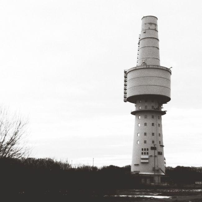 Tower Seaside Blackandwhite Photography Autumn