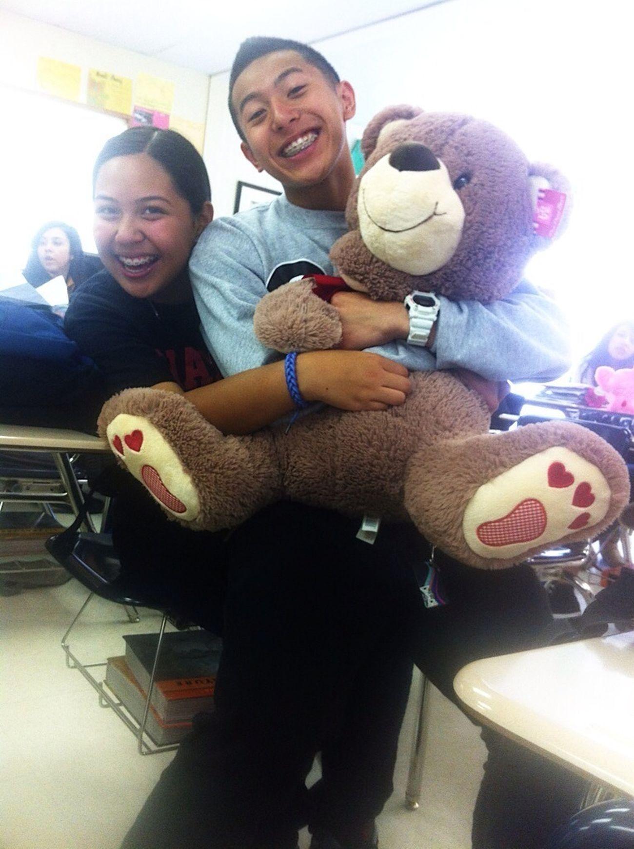 Our teddy bear though