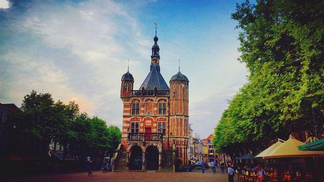 Architecture Cityscapes History Deventer Dutch Architecture Dutch Buildings Sky Towers