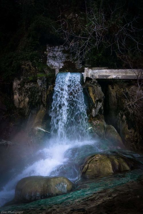 Thermopylae Greece Waterfall Water Motion Forest Flowing Water Beauty In Nature Power In Nature Outdoors Natural Landmark Non-urban Scene Greece Thermopylae Travel Destinations Warm Spring Water River Flowing My Point Of View Taking Photos Beauty In Nature Nature Sony A6000 Outdoors Photography Kit Lens