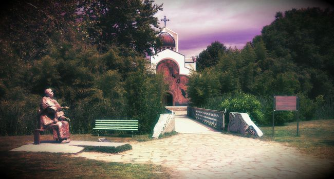 Baba Vanga -Bulgaria Building Church Churches Rupite, Bulgaria Buildings & Sky Building Exterior Peaceful Outside Sunset Bridge View Landscape Photography Home Sweet Home Amaizingnature Check This Out Beaytiful Buildingstyles Taking Photos