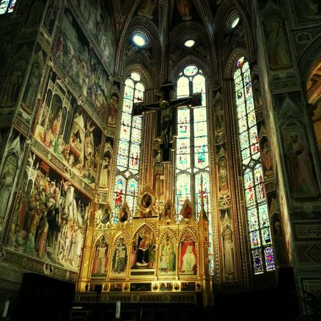 Santa Croce Cathedral Praising The Lord Florence Firenze