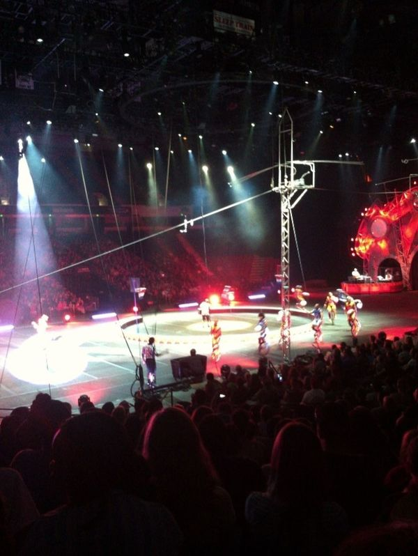 circus with the babys