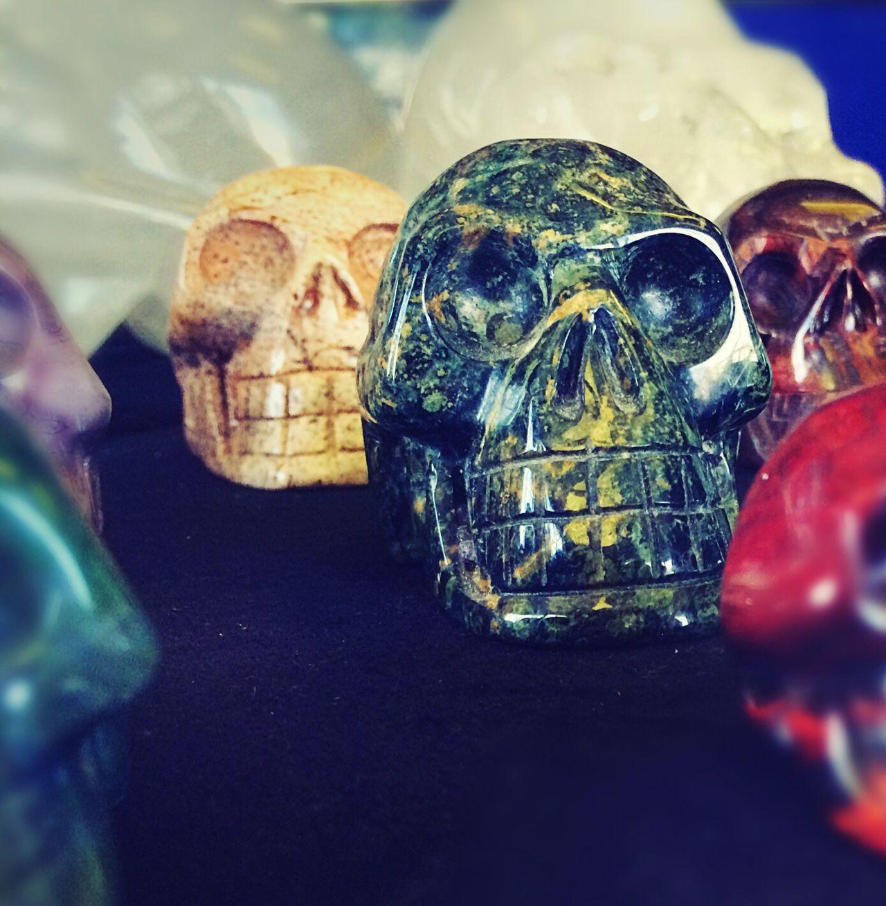Crystal Skulls Semi-precious Stones Carved Semiprecious Stones