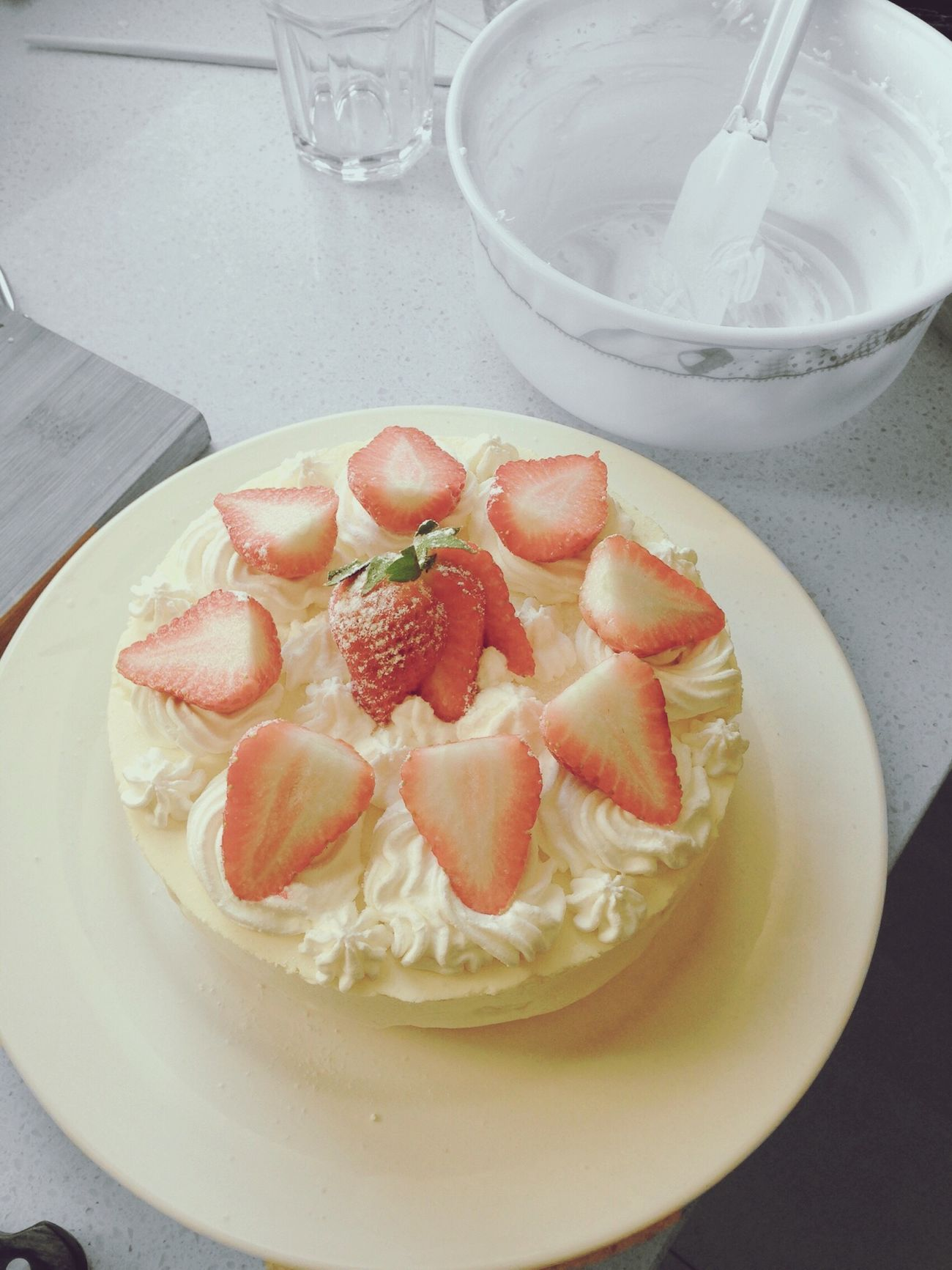 Strawberry cake,but nobody likes it! First Eyeem Photo