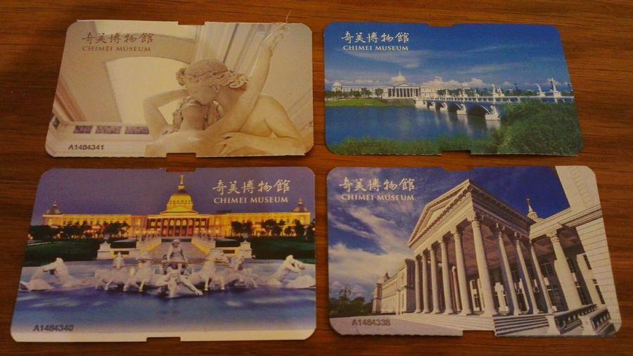每張門票都不同~ Chimei Museum 奇美博物館 仁德區 台南市