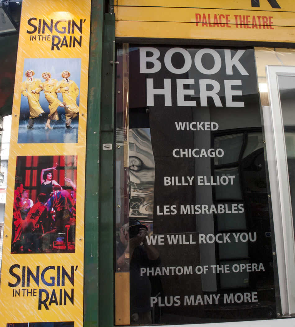 The West End Theatre Area London AWARD Award Winning Book Office Box Office Cafe Crystal Rooms London Pub Rainbow Colors Show Time Singing In The Rain Stage Stage Door Theatre Area Tickets Vivid International West End