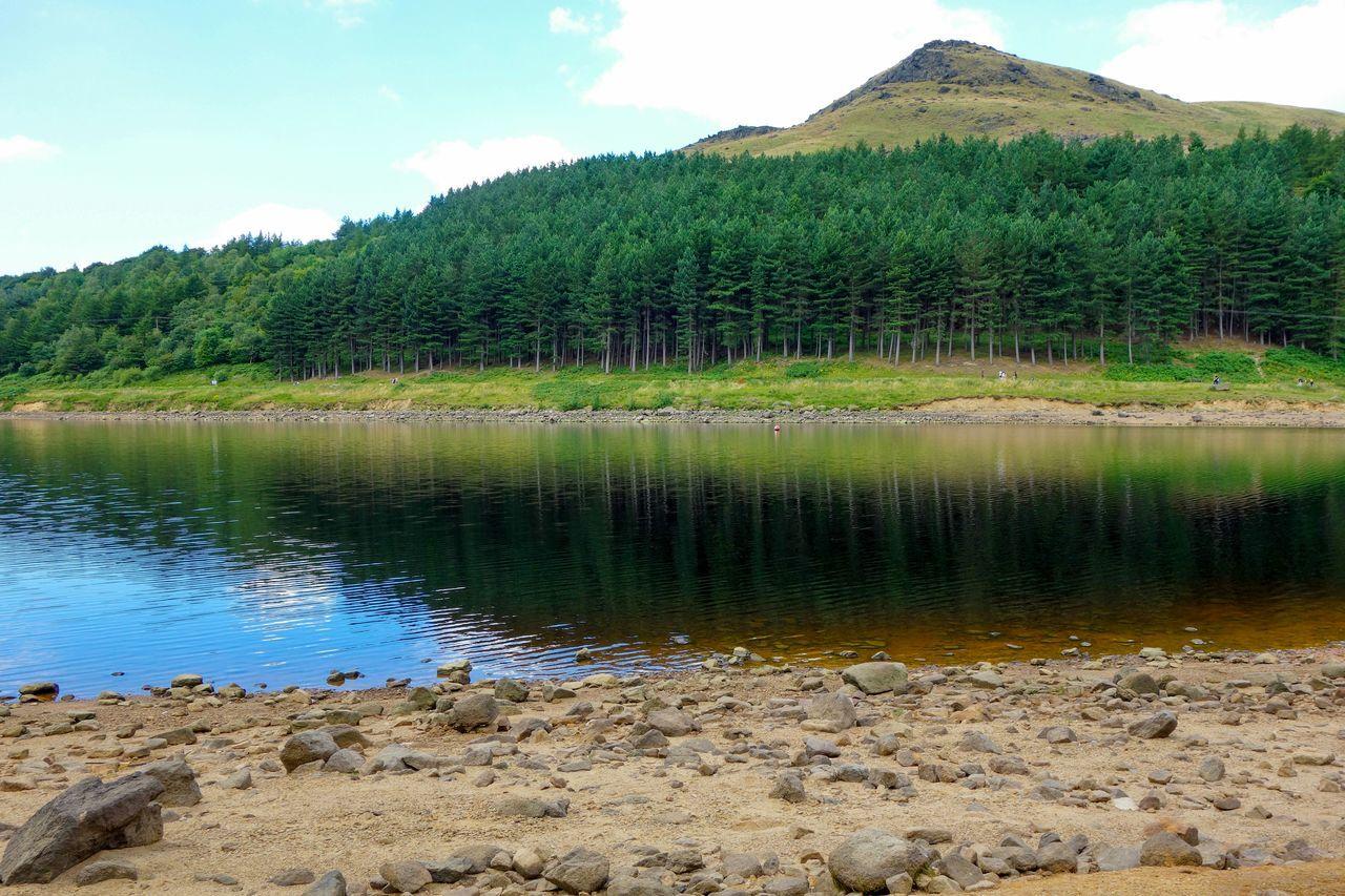 Reservoir Dovestone Outdoor Water Landscape Shore Nature Nature Reserve