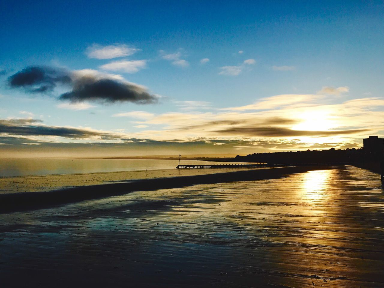 Sunset #sun #clouds #skylovers #sky #nature #beautifulinnature #naturalbeauty #photography #landscape Portobello Beach, Edinburgh Beauty In Nature Sky Water Cloud - Sky Beach Photography EyeEm Best Shots Sunrise_Collection EyeEmBestPics