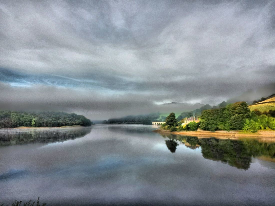 ladybower reservoir Water Tranquil Scene Tranquility Scenics Cloud - Sky Nature Countryside Waterfront No People Landscape_Collection Landscapes Bestoftheday Hdrphotography Hdr_Collection HDR Eyemphotography Eyeemlandscape Bestoftheday Non-urban Scene Outdoors Walking Around Landscape Taking Photos Church