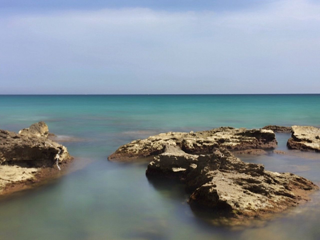 sea, horizon over water, water, beauty in nature, scenics, nature, sky, tranquility, tranquil scene, no people, beach, outdoors, day