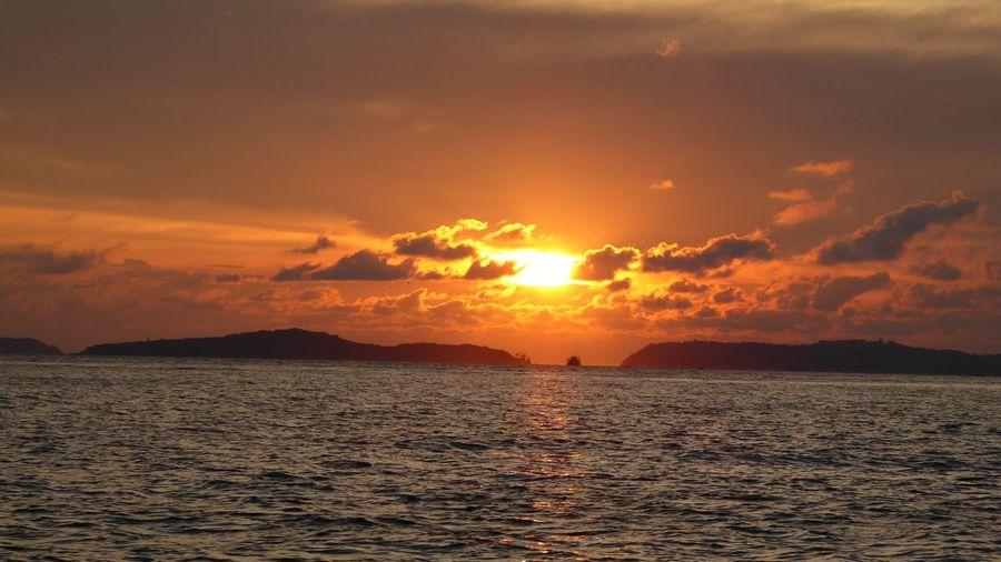 Ao Yon , Thailand Sunset #sun #clouds #skylovers #sky #nature #beautifulinnature #naturalbeauty #photography #landscape