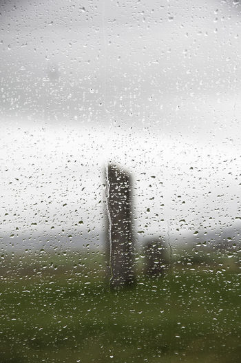 Orkney Islands Scotland Backgrounds Drop Full Frame Glass - Material Indoors  No People Rain RainDrop Transparent Water Weather Wet Window