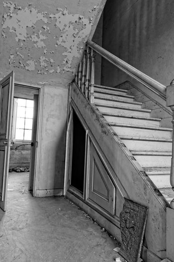 Abandoned Abandoned & Derelict Abandoned Places Architecture Bestoftheday Black And White Blackandwhite Built Structure Castle Château Château Des Singes Day Derelict Exploration Exploring Indoors  Moth4fok No People Staircase Steps Steps And Staircases Urbaine Urban Urbex Window The Architect - 2017 EyeEm Awards EyeEmNewHere Sommergefühle EyeEm Selects