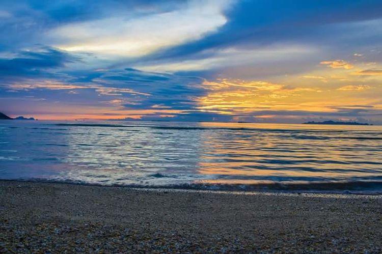 Samui Thailand Sea And Sky Sunset Sky And Clouds First Eyeem Photo Sea