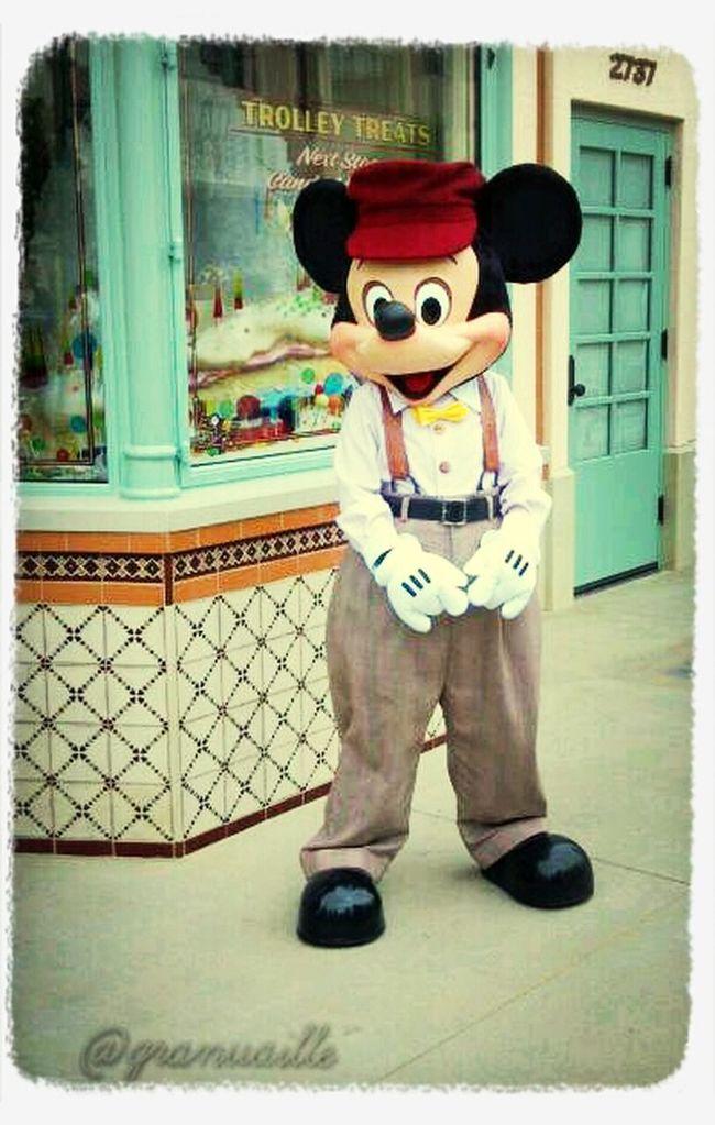 Mickey on Buena Vista Street