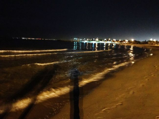 Night at Williamstown Williamstownbeach Iphonography Iphone7plusclick Peace Lovetheview AJ