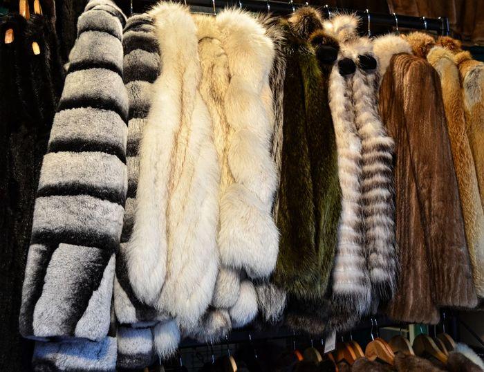 Vintage fur coats for sale in Portobello Market Close-up Coats Fur Fur Coats Market No People Pjpink Shopping Vintage Vintage Shopping Vintage Style