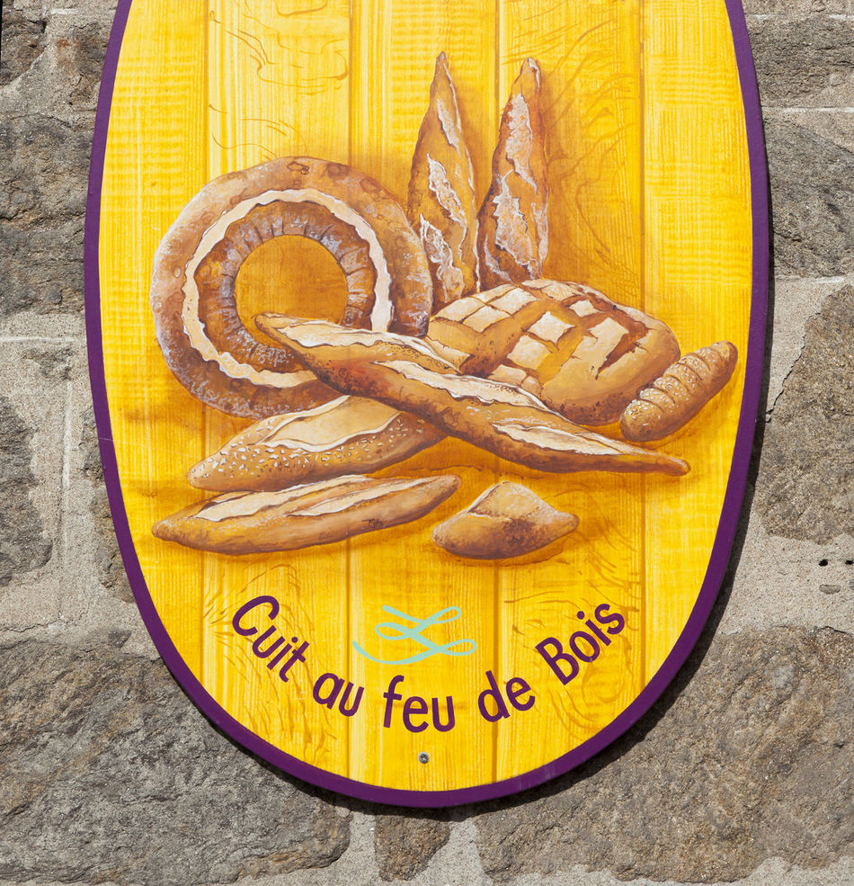 Bakery sign in Saint-Malo - Store sign in Saint-Malo, Brittany, France Baguette Bakery Boulangerie Bread Breakfast Business Close-up Food Food And Drink France French Freshness Healthy Eating Illustration Marketing No People Nostalgia Retail  Retro Sign Signboard Small Business Store Text Tradition