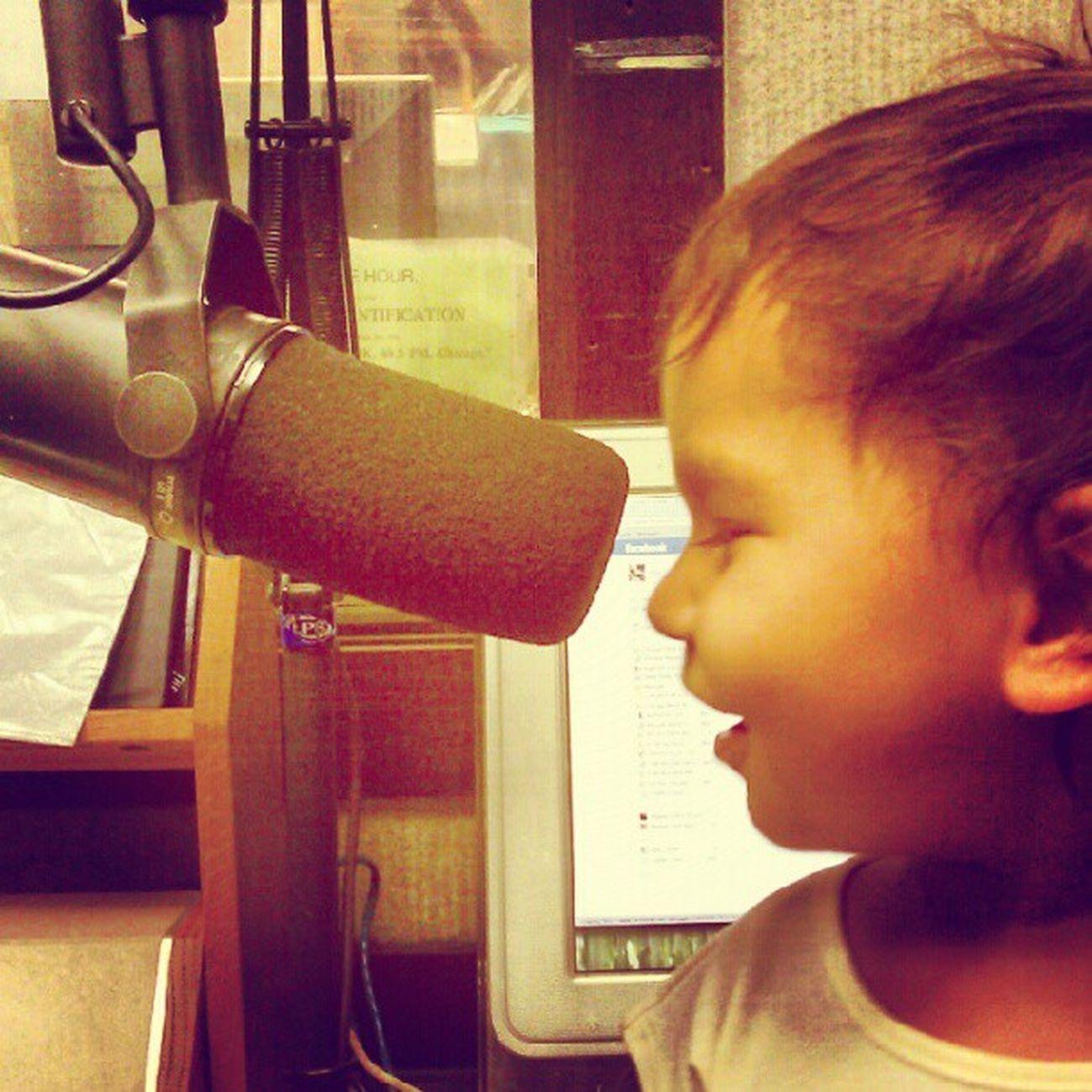 Little radio personality in the making Whpk Reggaegoldradio