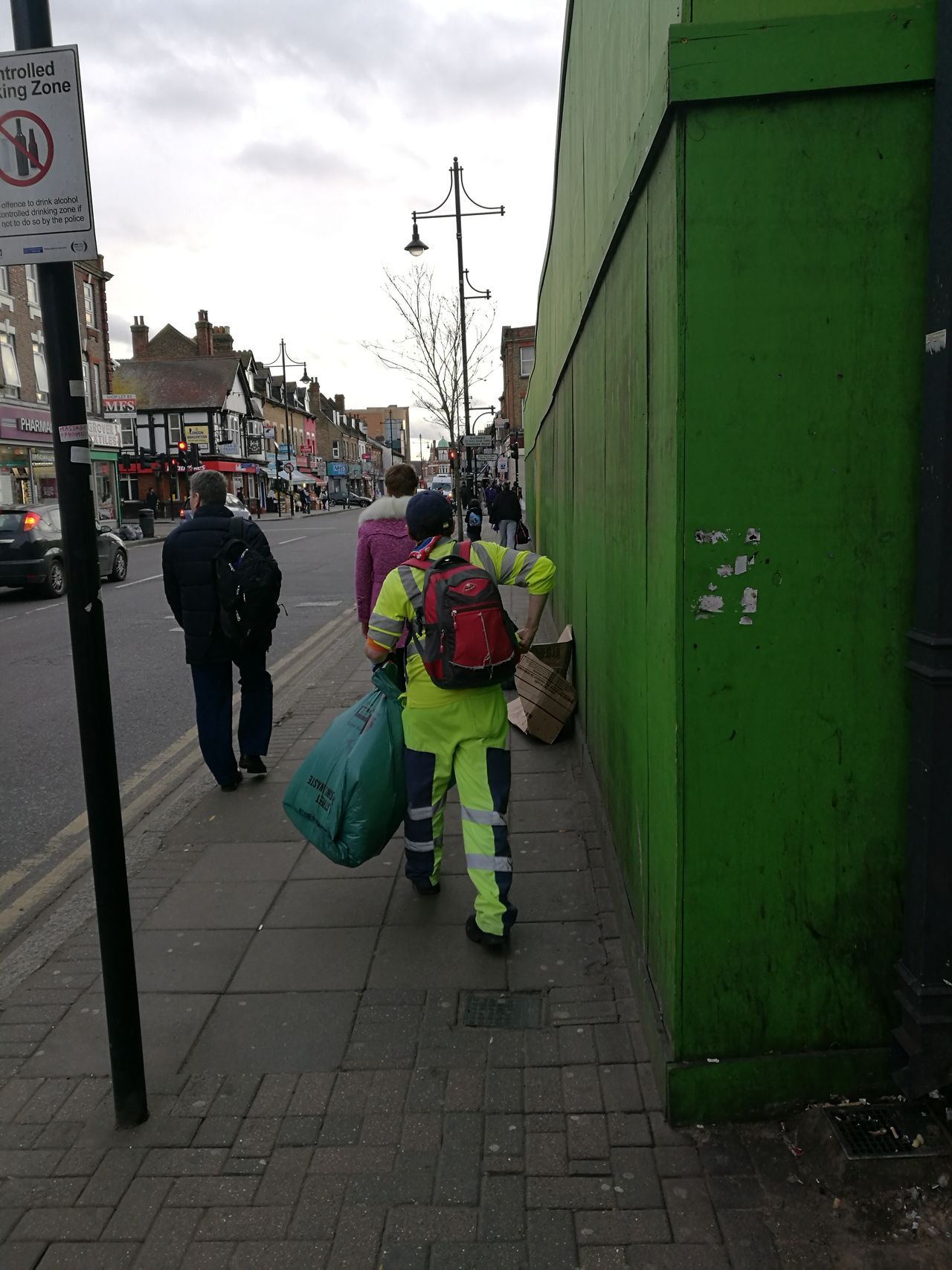 Typical life outside London City, cleaner at work organized rubbish in London,Southall, February,2017 Huaweiphotography Huawei Shots Streetphoto Street Life Street Style From Around The World Working Hard Working Out Worker Work In Progress Real People Street Photography Street Life Photo