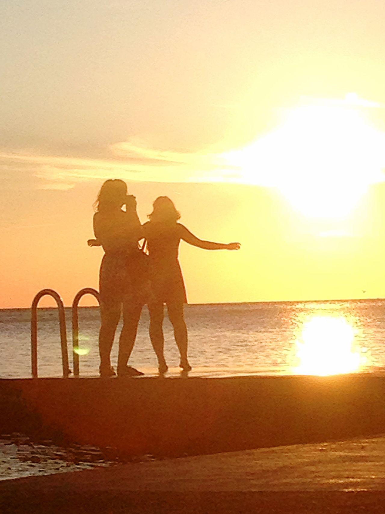 Summer Views Slovenian Coast Girls Bffs