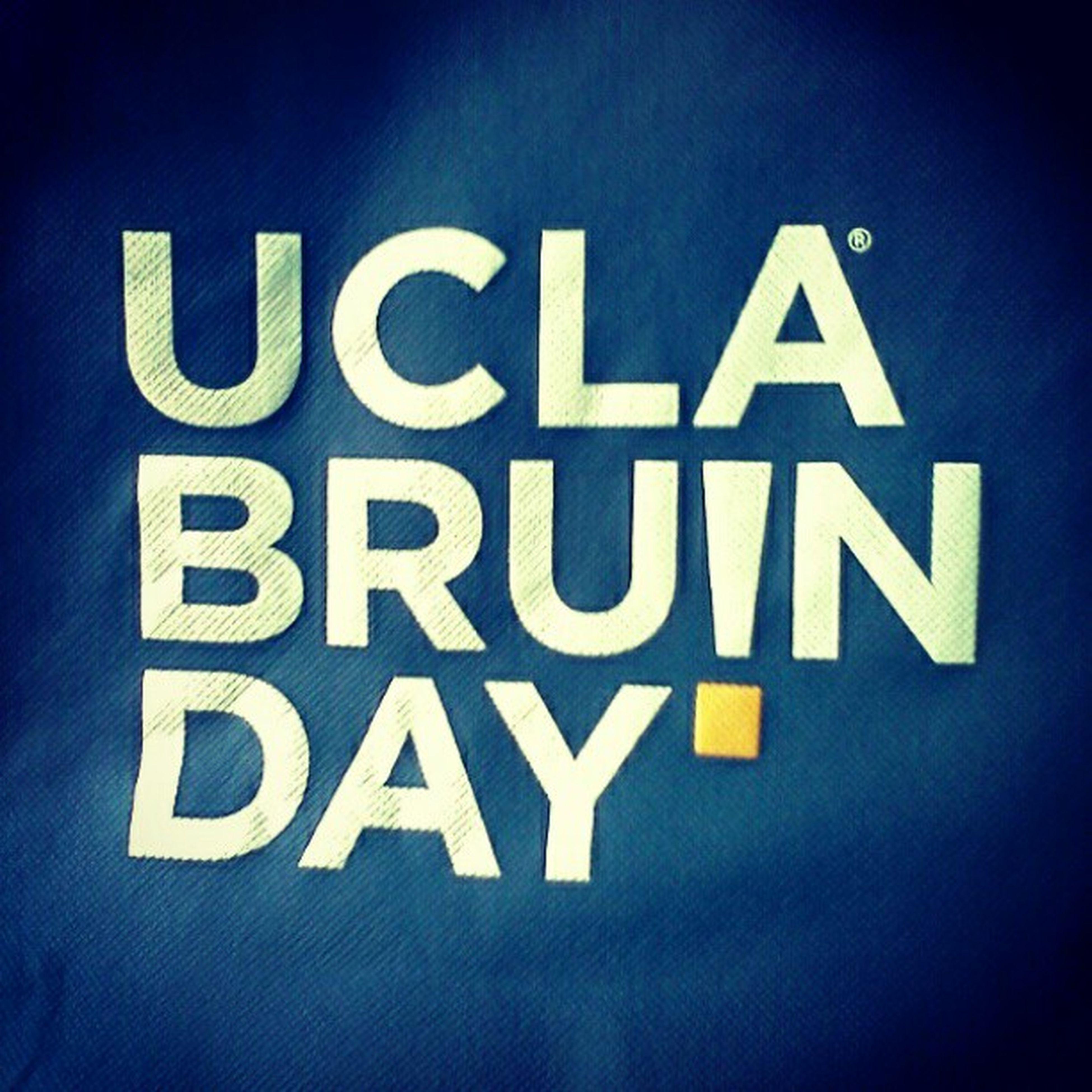 UCLA  Bruinday ! ^-^