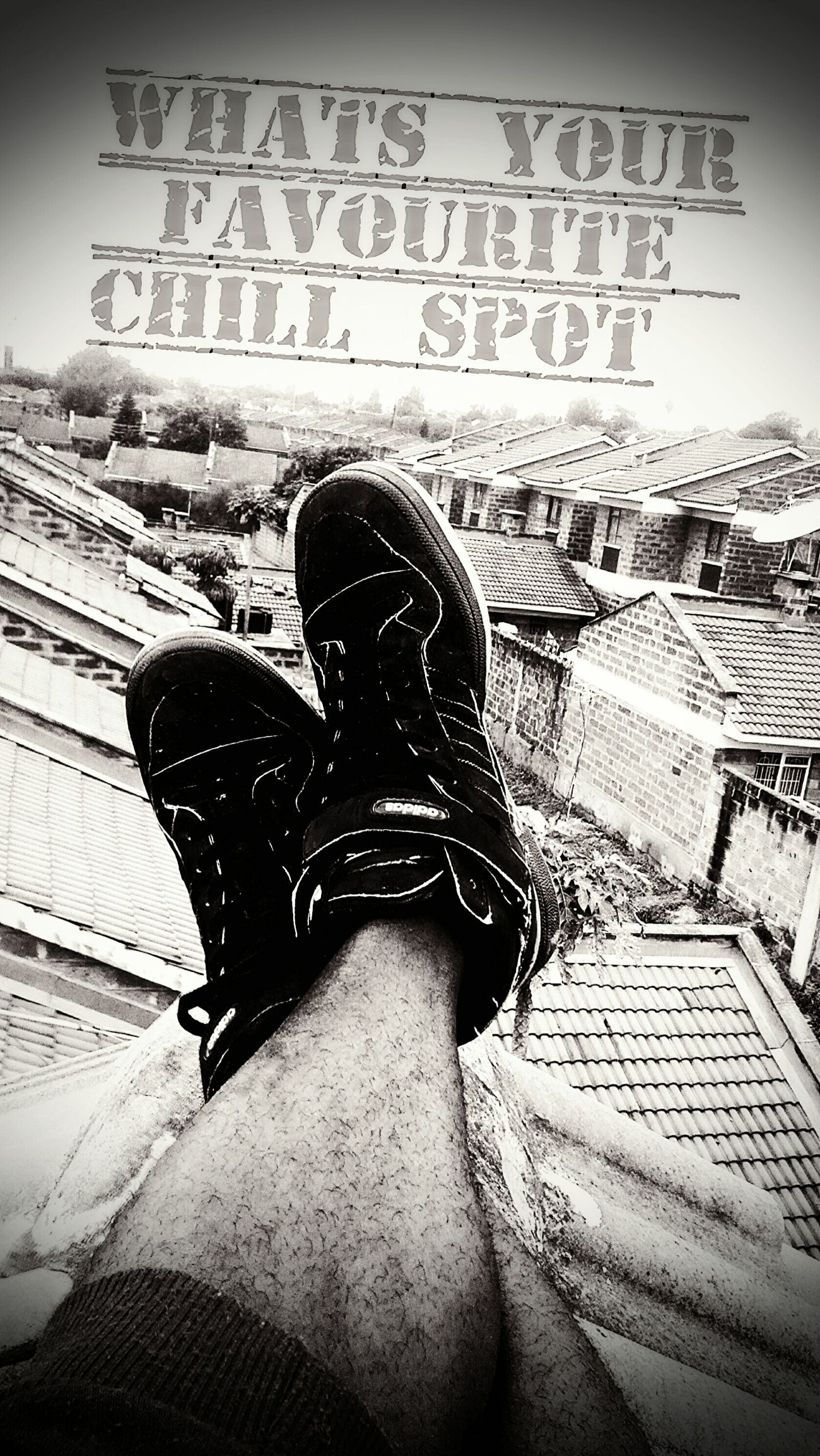 *captioned*Chillspot Goodchillspot Adidasoriginals Blackandwhite Photography Hdrphotography