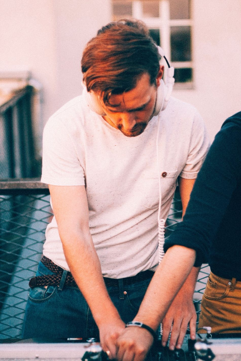 Beautiful stock photos of decks, Arts Culture And Entertainment, Berlin, Brown Hair, Casual Clothing