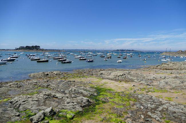 Sky Coastline Clear Sky Seascape Sea And Sky Coastline Landscape Boats⛵️ Boat Tides Out. Nautical Vessel Boats Sailboat