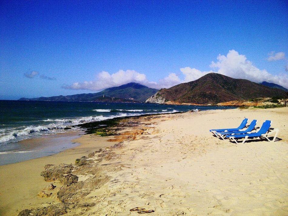En algun lugar del mundo. Hello World Vzla Venezuela Naturaleza Playasola Réflexion Margaritaisland