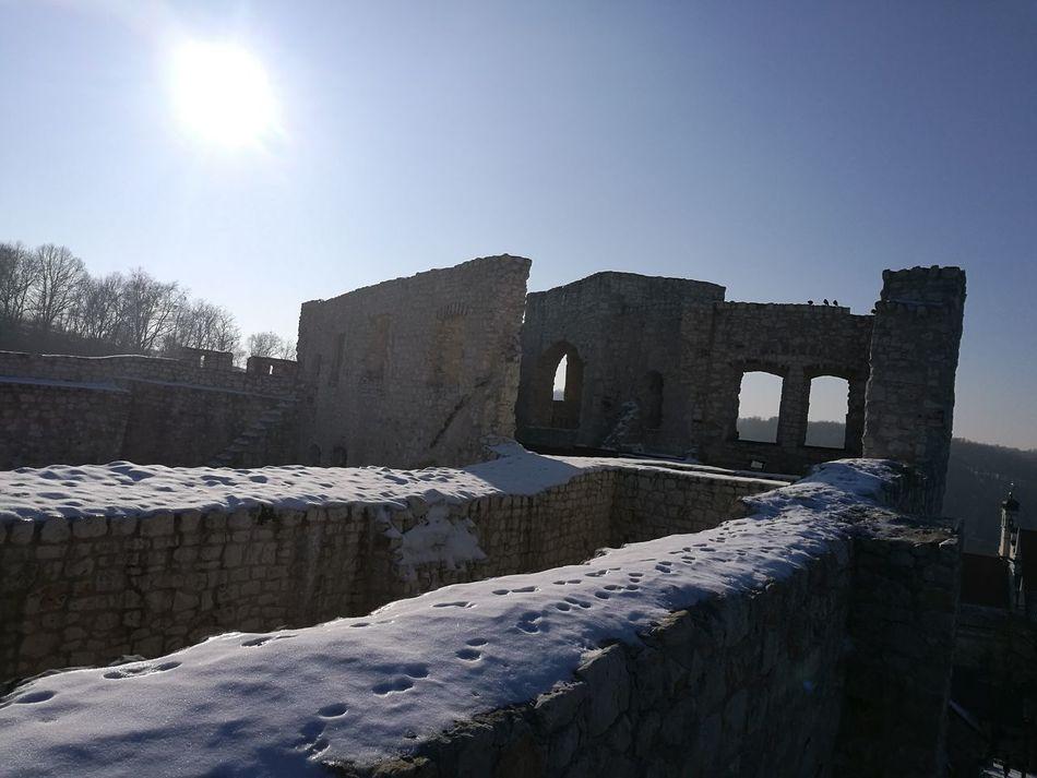 Snow Castle Ruin Nature