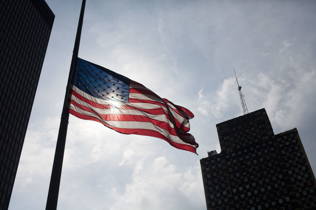 Beautiful stock photos of american flag, American Culture, American Flag, Architecture, Building Exterior