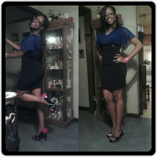 Me before the ball