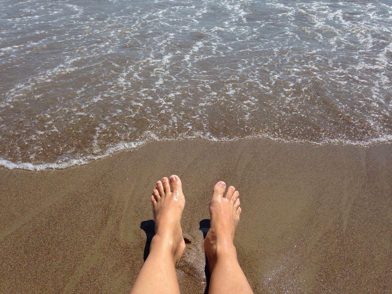 Мои ножки на море... Воздух вода отдых)))))