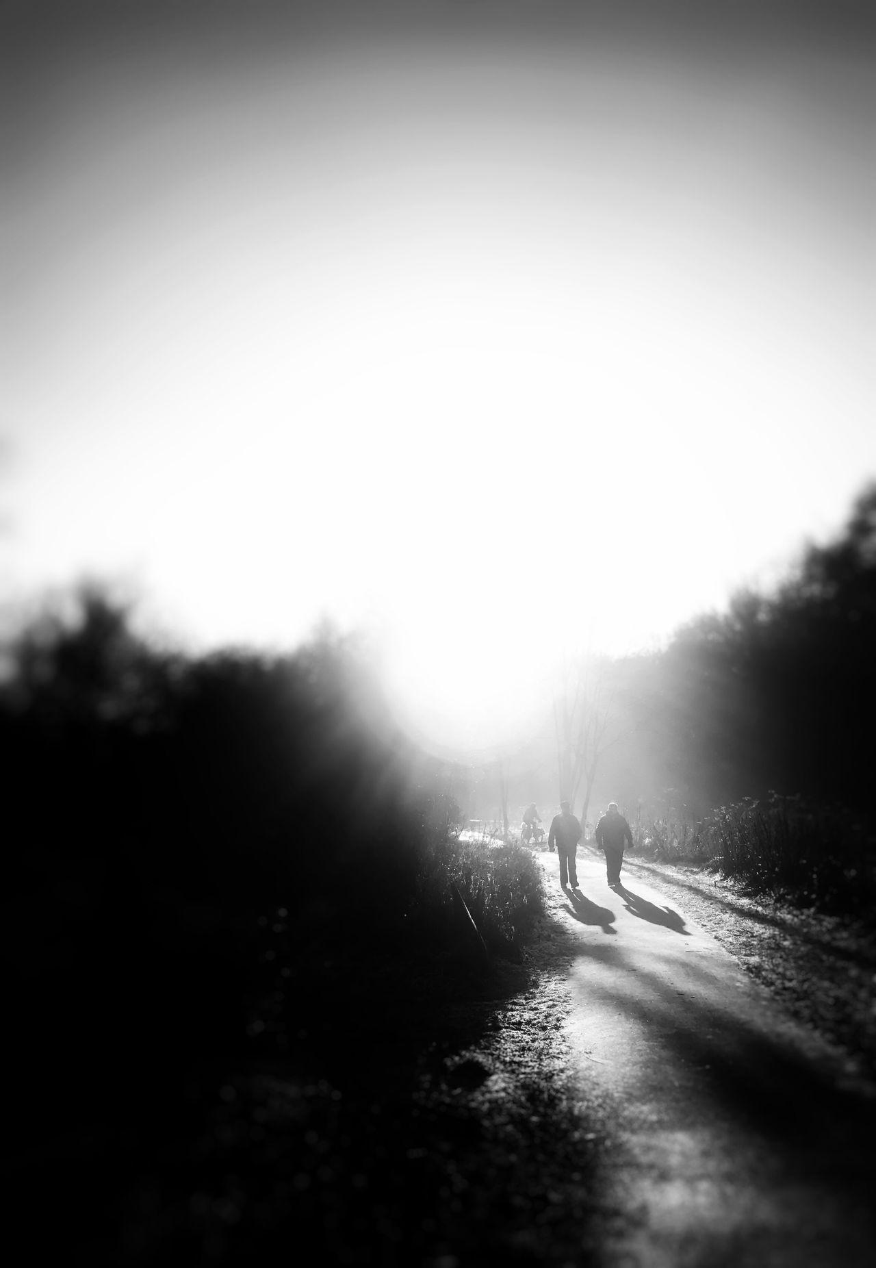 Real People Walking Two People Friends Black And White Photography Blackandwhite Photography Blackandwhite