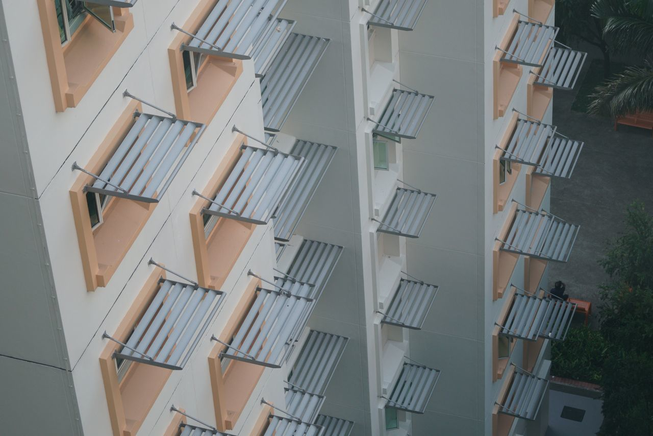 EyeEm Selects windows High Angle View No People Day Architecture Outdoors Apartment Building Exterior Apartment Buildings Window Frame Window Hdbflats Singapore
