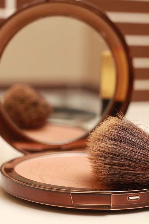 Maquillage Miroir Pinceau Fond De Teint